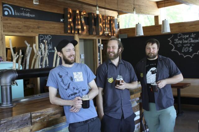 Julien Chabot-Chouinard, David Lebel et Alexandre Caron de... (Collaboration spéciale, Laurie Richard)