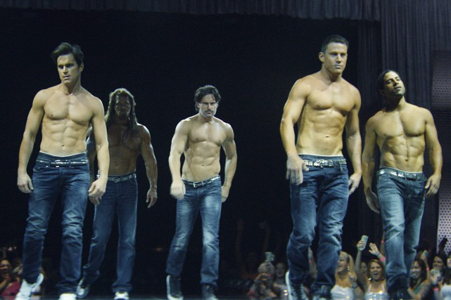 Une scène du film Magic Mike.... (Fournie par Warner Bros.)