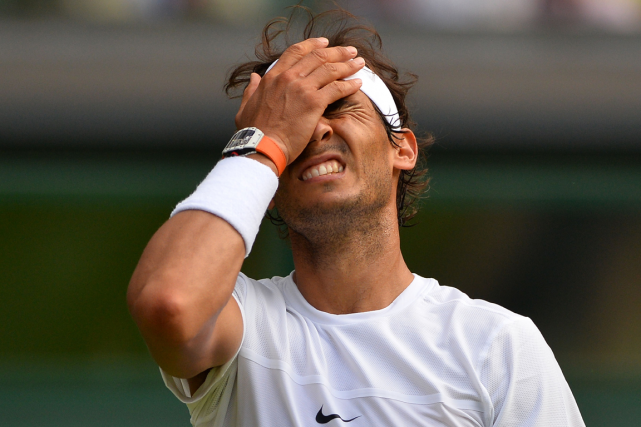 Rafael Nadalvit la pire saison de sa carrière.... (Photo Glyn Kirk, AFP)