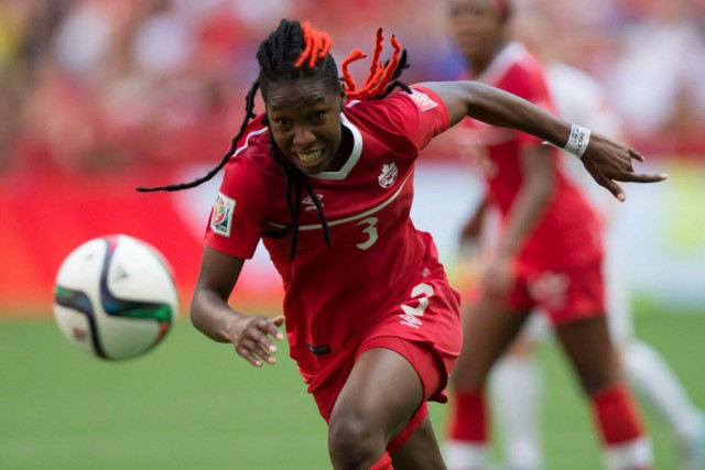 Kadeisha Buchanan, qui est issue de l'Université West... (Photo Darryl Dyck, La Presse canadienne)