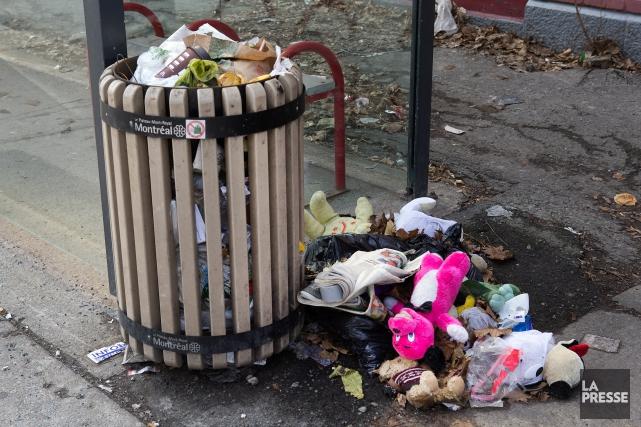 L'auteure se désole de l'état de la métropole,... (PHOTO ROBERT SKINNER, ARCHIVES LA PRESSE)
