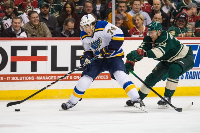 Oshie, un premier choix, 24e au total, des... (PHOTO ARCHIVES USA TODAY)