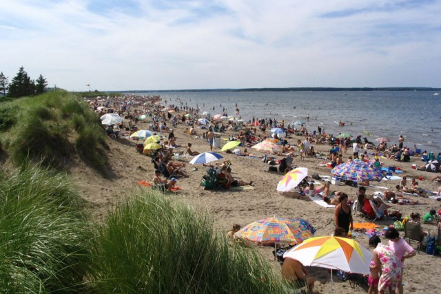 La plage de Shediac.... (Photo Wikimedia Commons)