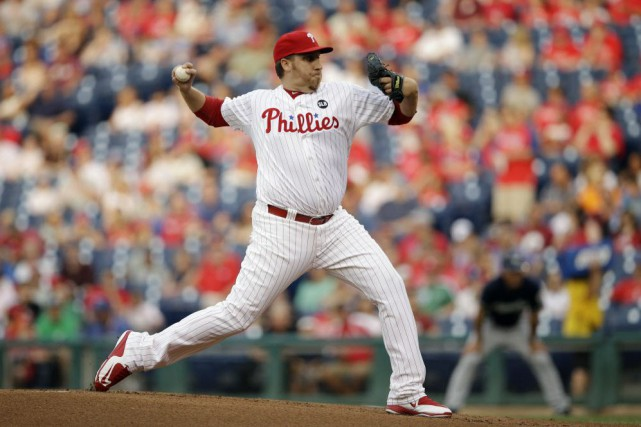 Aaron Harang... (Photo Matt Slocum, AP)