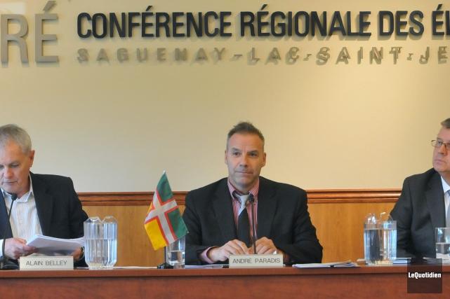 Le président de la Conférence régionale des élus,... ((Archives Le Quotidien))