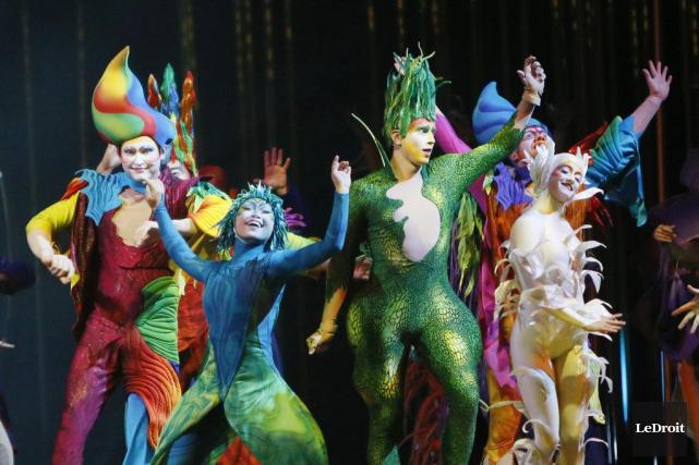 Le spectacle Varakai du Cirque du Soleil.... (PHOTO SIMON SÉGUIN-BERTRAND, ARCHIVES LE DROIT)