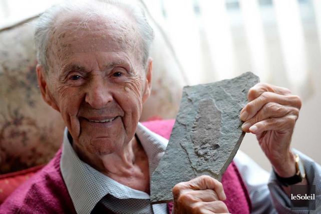 «J'étais fasciné par les formations rocheuses qui se... (Le Soleil, Erick Labbé)