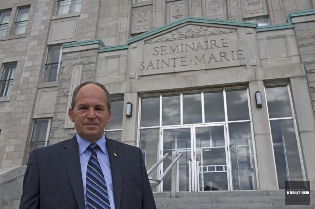 Richard Gaudreault, directeur du Séminaire Sainte-Marie.... (Photo: Stéphane Lessard, Le Nouvelliste)