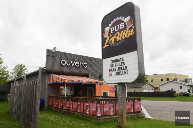 Le Pub L'Alibi du secteur Pointe-du-Lac tiendra une... (Photo: François Gervais, Le Nouvelliste)