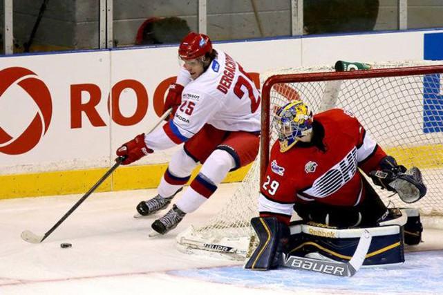 Les Cataractes ont mis la main sur l'attaquant... (Photo: OHL Images)