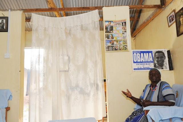 Mama Sarah était la troisième femme du grand-père... (PHOTO SIMON MAINA, ARCHIVES AFP)