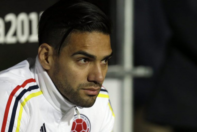 Radamel Falcao a représenté la Colombie à la Copa... (PHOTO NATACHA PISARENKO, AP)