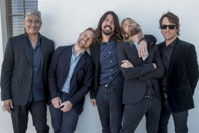 Les Foo Fighters... (PHOTO FOURNIE PAR SONY)