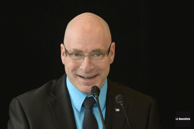 Le ministre responsable de la région de la... (Photo: Sylvain Mayer Le Nouvelliste)