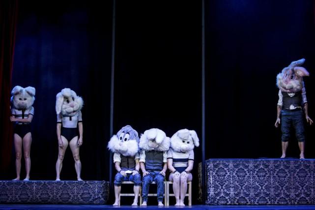 Le spectacle Beyond, de la compagnie Circa, est... (PHOTO RICHARD DAVENPORT, FOURNIE PAR MONTRÉAL COMPLÈTEMENT CIRQUE)