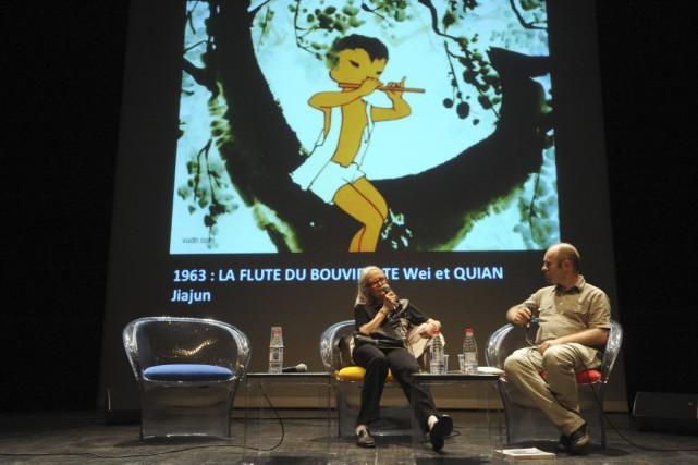 Marie-Claire Kuo, ancienne chercheuse au CNRS, à la... (PHOTO AFP)