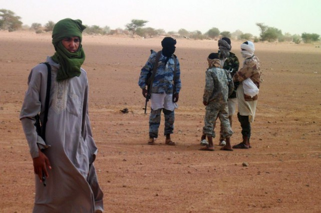 Le groupe djihadiste Ansar Dine a menacé de... (PHOTO ROMARIC OLLO HIEN, archives AFP)