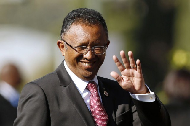Les parlementaires malgaches sont repartis vendredi à l'offensive contre le... (PHOTO SIPHIWE SIBEKO, archives AFP)