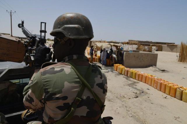 Quelque 3000 soldats français au total sont déployés... (Photo ISSOUF SANOGO, AFP)