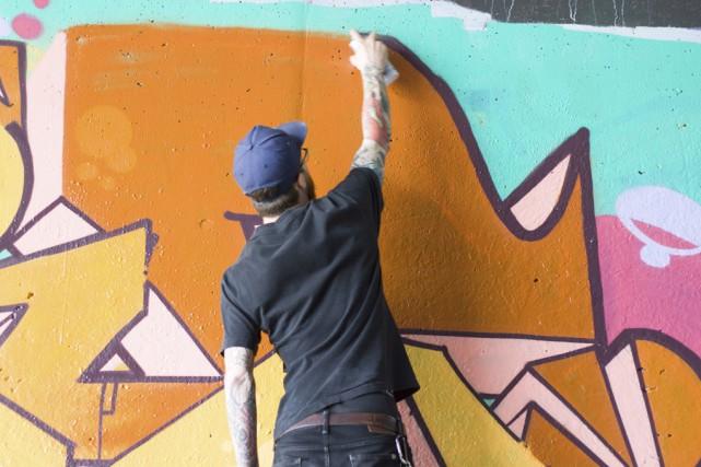 Les jeunes amateurs de graffitis pourront laisser libre...