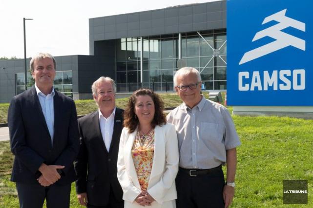 Camso a construit un bâtiment neuf à Magog... (IMACOM, René Marquis)