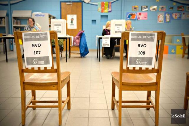 Une élection scolaire partielle dans le contexte actuel... (Le Soleil, Pascal Ratthé)