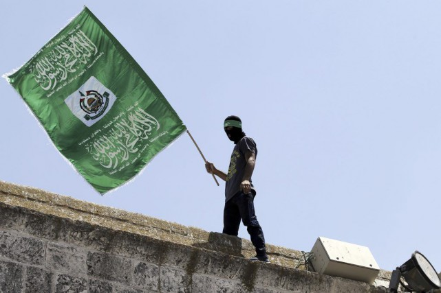 Réconciliés il y a un an, le Hamas,... (PHOTO AHMAD GHARABLI, ARCHIVES AFP)