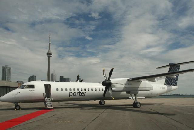 Un traducteur de Toronto, Louis Labrecque, ne s'attendait... (Courtoisie, Porter Airlines)