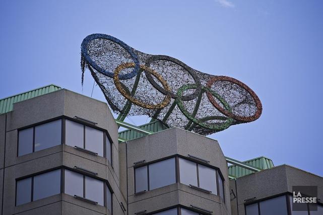 La Maison olympique sera bien visible dans le... (PHOTO ANDRÉ PICHETTE, LA PRESSE)