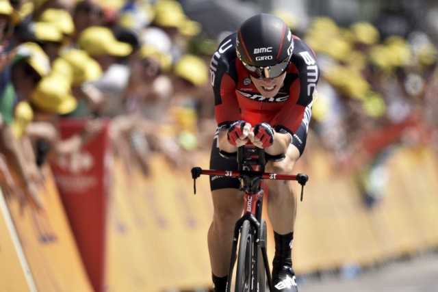 Rohan Dennis... (PHOTO ERIC FEFERBERG, AFP)