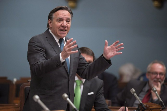 François Legault... (Jacques Boissinot, Archives La Presse Canadienne)
