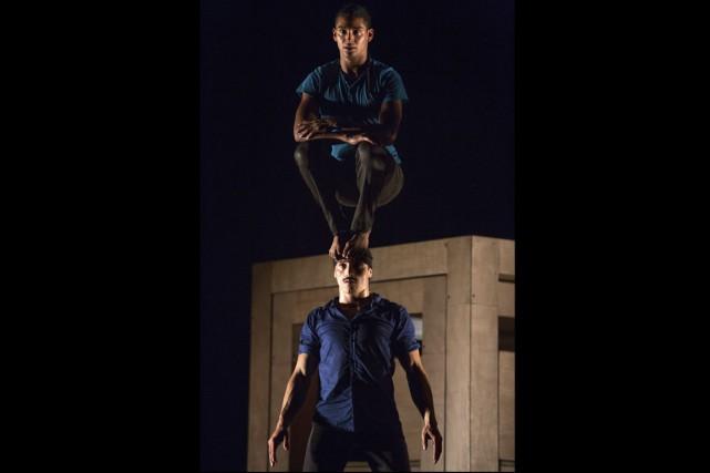 Le duo El Nucleo est formé de Wilmer... (Photo fournie par Montréal complètement cirque)