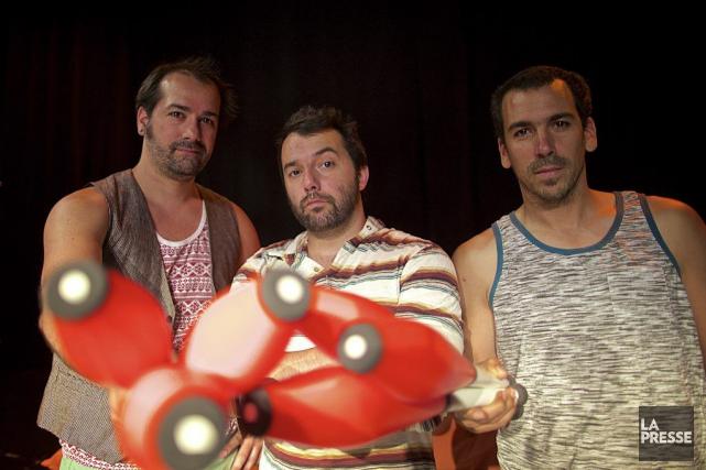 Comme beaucoup d'artistes de cirque «vieillissants», Gonzalo Coloma,Andy... (Photo André Pichette, La Presse)