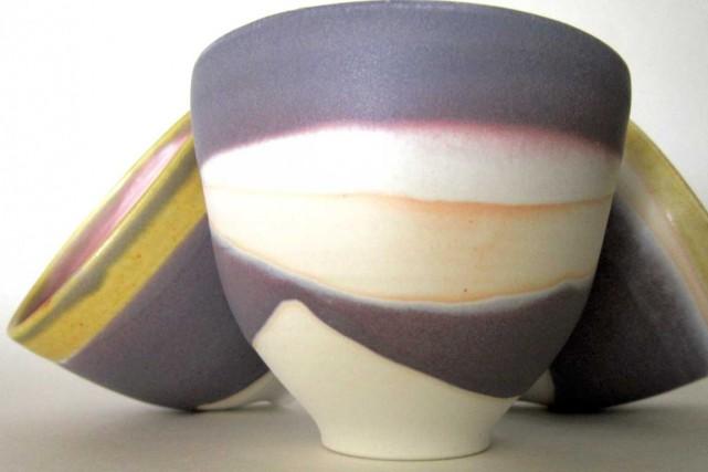 Cette année, le marché de céramique Carac'Terrese déroule... (Photo fournie par Jane Baronet)