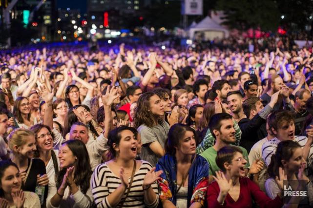 Malgré l'affluence, les revenus autonomes du Festival de... (PHOTO EDOUARD PLANTE-FRECHETTE, LA PRESSE)