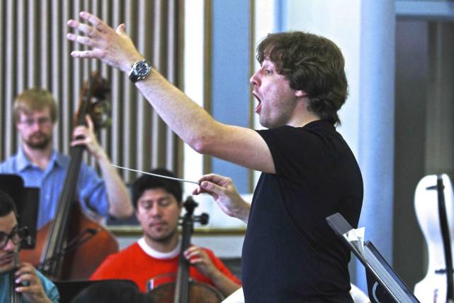 L'Orchestre de la Francophonie regroupe quelque 80 jeunes... (Photo Jacques Robert)