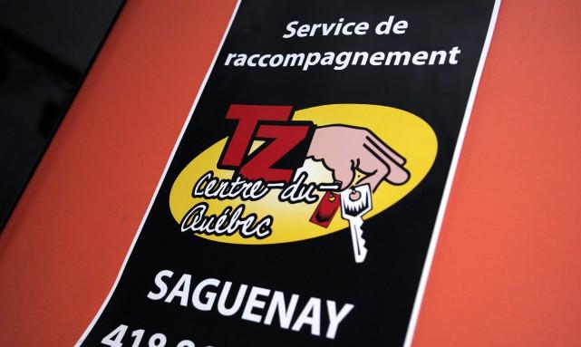 Un conducteur du service d'accompagnement Tolérance Zéro a... (Photo Le Progrès-Dimanche, Mariane L. St-Gelais)