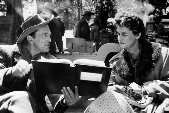 Diana et Kirk Douglas.... (Photo AP)