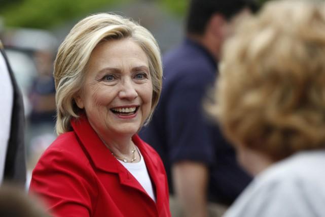 Hillary Clinton est candidate à l'investiture démocrate pour... (Photo Robert F. Bukaty, AP)