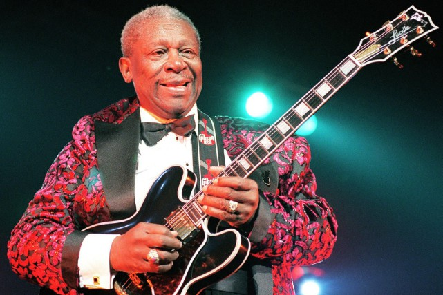 Le roi du blues, B.B. King, est mort... (PHOTO BERTRAND GUAY, ARCHIVES AFP)