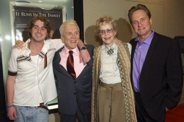 Dans cette photo de 2003,Diana Douglas Webster pose... (Chris Pizzello)