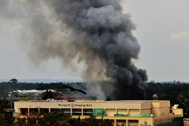 Le centre commercial Westgate, à Nairobi, a été... (Archives AFP)