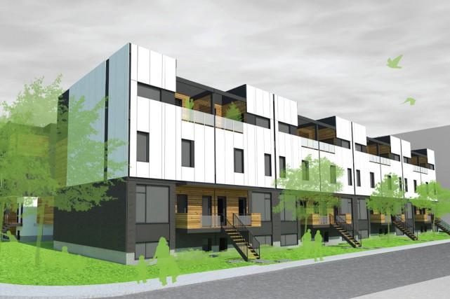 Le second projet annoncé du futur écoquartier Pointe-aux-Lièvres,... (PHOTO FOURNIE PAR TERGOS)