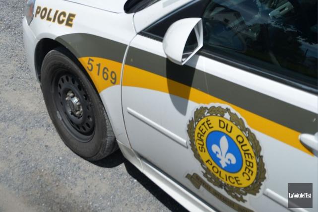 La Sûreté du Québec confirme l'identité du conducteur décédé dans un accident... (Photothèque La Voix de L'Est)