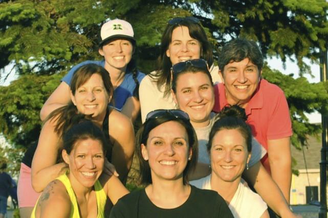 L'équipe des Road Runners est composée, de gauche... (photo fournie)