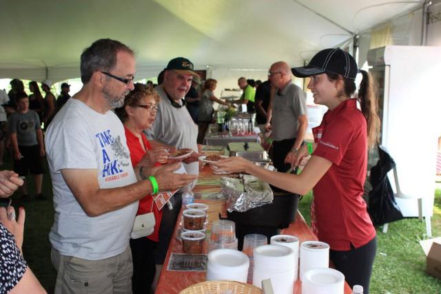Les visiteurs de la Foire gourmande ont pu... (Martin Brunette, LeDroit)