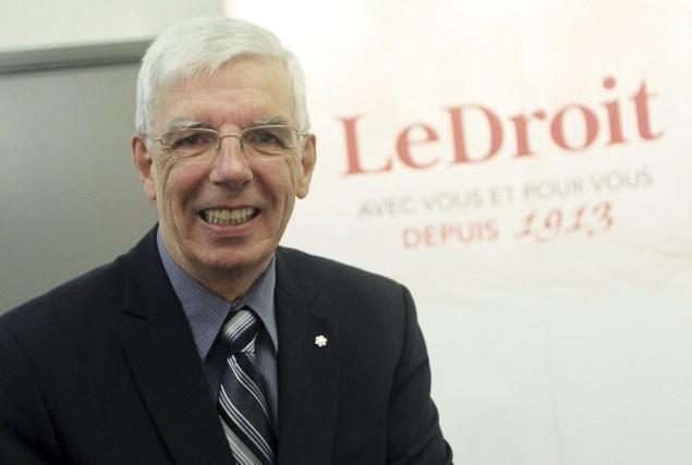 Pierre Bergeron.... (Étienne Ranger, LeDroit)