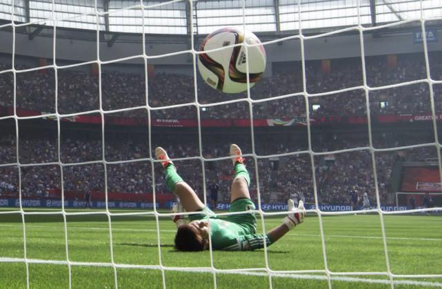 La finale du Mondial de soccer féminin naura... (La Presse Canadienne)