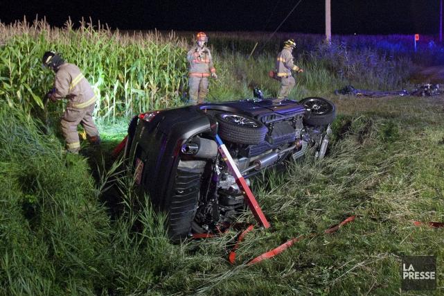 La Société de l'assurance automobile du Québec (SAAQ) lance ce lundi une... (Archives La Presse)