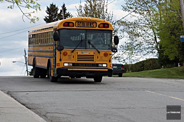 Les frais de transport des écoles privées de Sherbrooke, le Collège Mont... (Archives La Tribune)